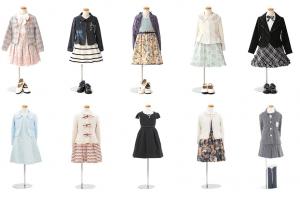 女の子の入学衣装一覧