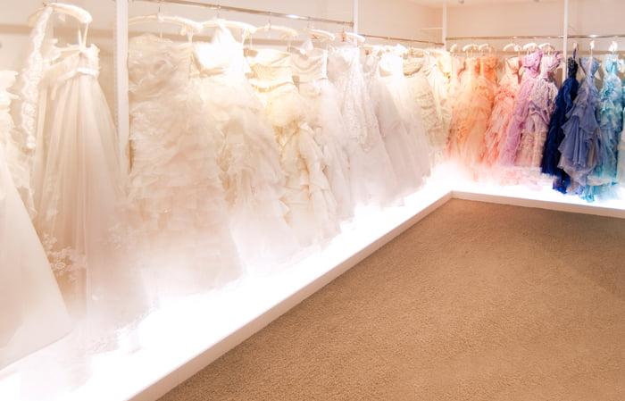 ぱれっと帯広の結婚写真 ドレスルーム