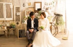 ぱれっとの結婚写真