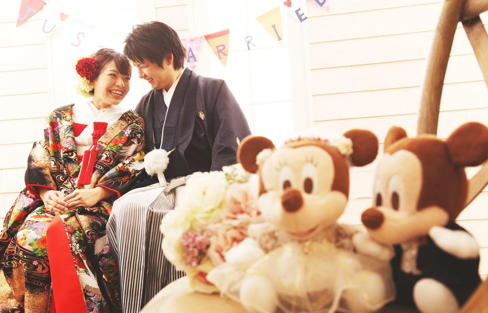 帯広の結婚写真を撮られたお客様