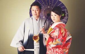 函館の結婚写真を撮られたお客様