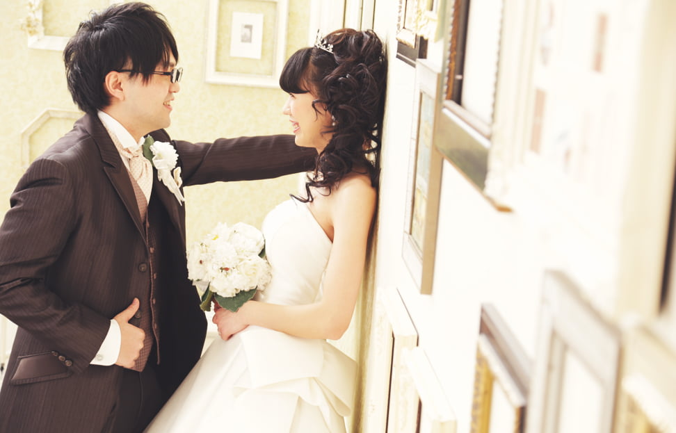 旭川で結婚写真を撮られたお客様