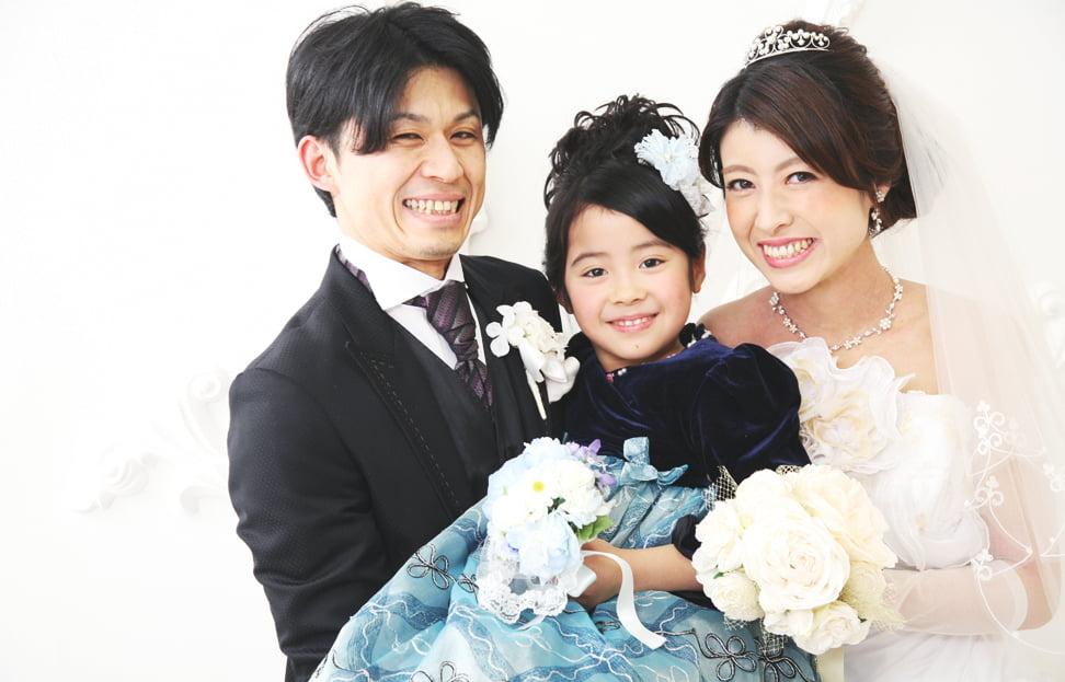 札幌の結婚写真を撮られたお客様
