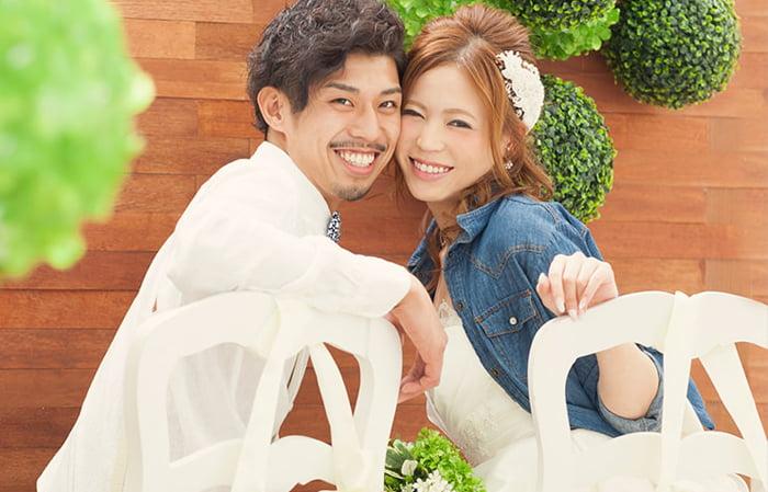 結婚写真 ヘアアレンジ