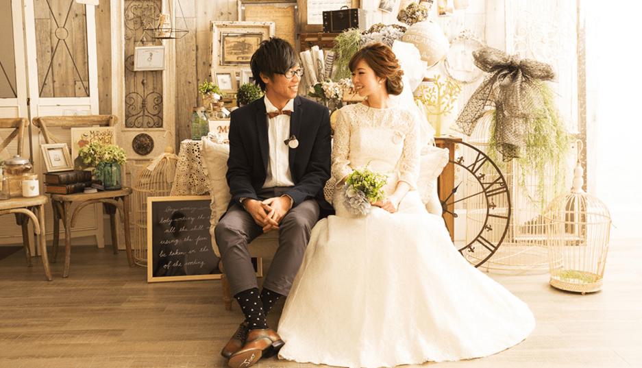 札幌のフォトスタジオ 写真工房ぱれっとの結婚写真