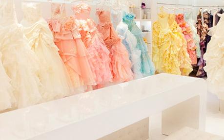 ブライダルフォトのドレス