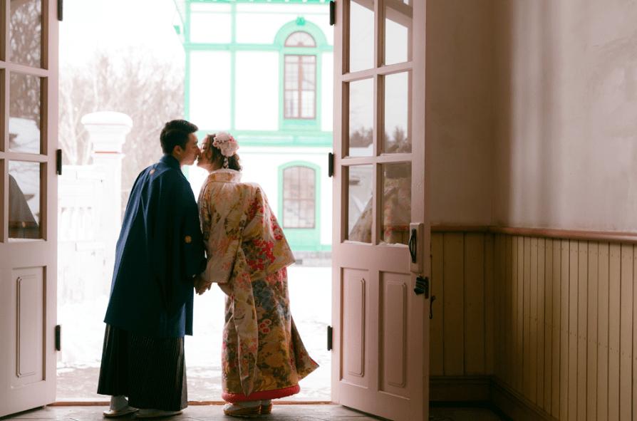 đám cưới ở hokkaido