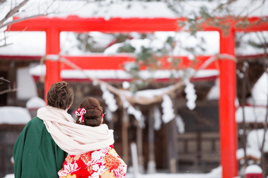 งานแต่งงานในฤดูหนาวฮอกไกโด