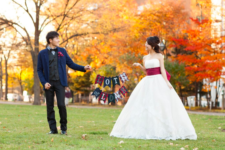 แต่งงานในฮอกไกโด