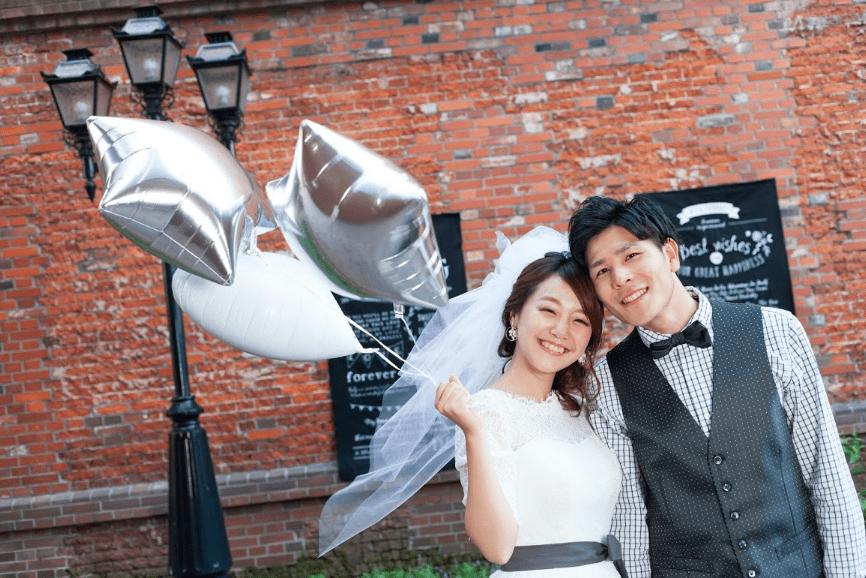 婚禮照片市中心札幌北海道