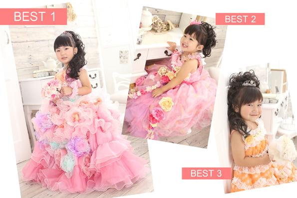 七五三衣装ベスト3「ドレス編」