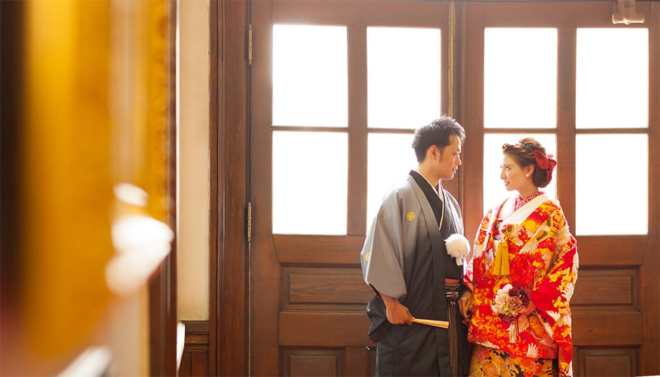 札幌赤れんが庁舎の屋内ブライダルロケーション