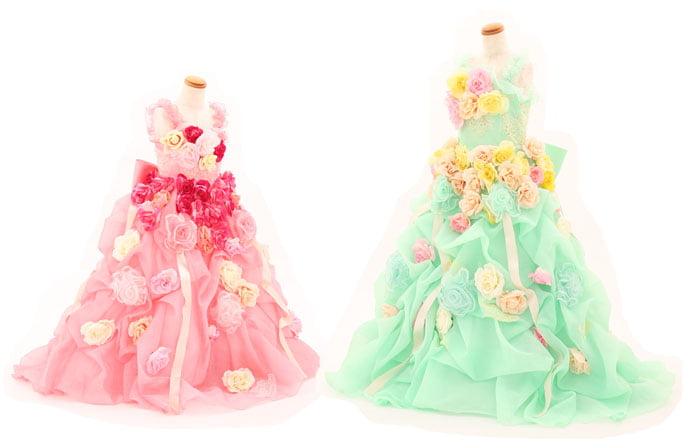 七五三衣装ドレス