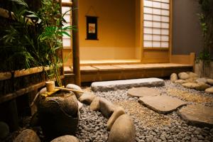 旭川店の屋内庭園和室スタジオ