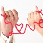 赤い糸 作り方