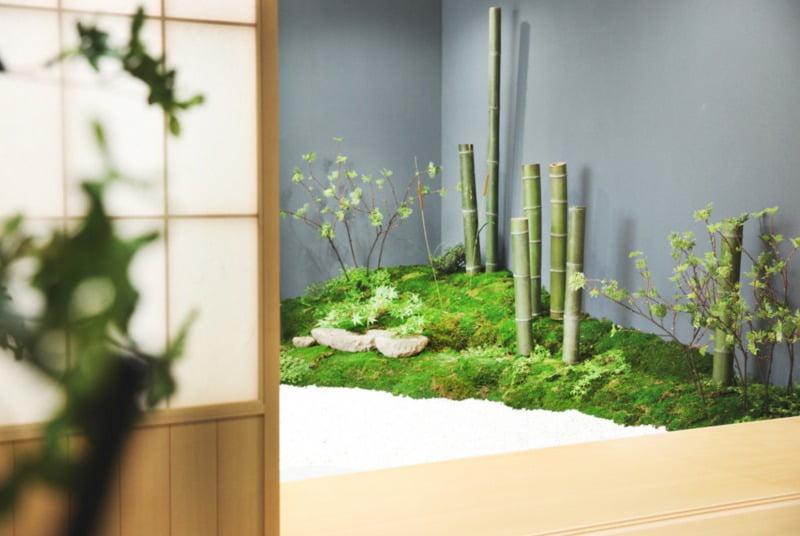 札幌の和装庭園ロケーションフォト