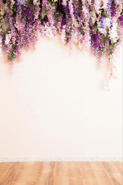 婚礼 藤の花 ピンク 背景