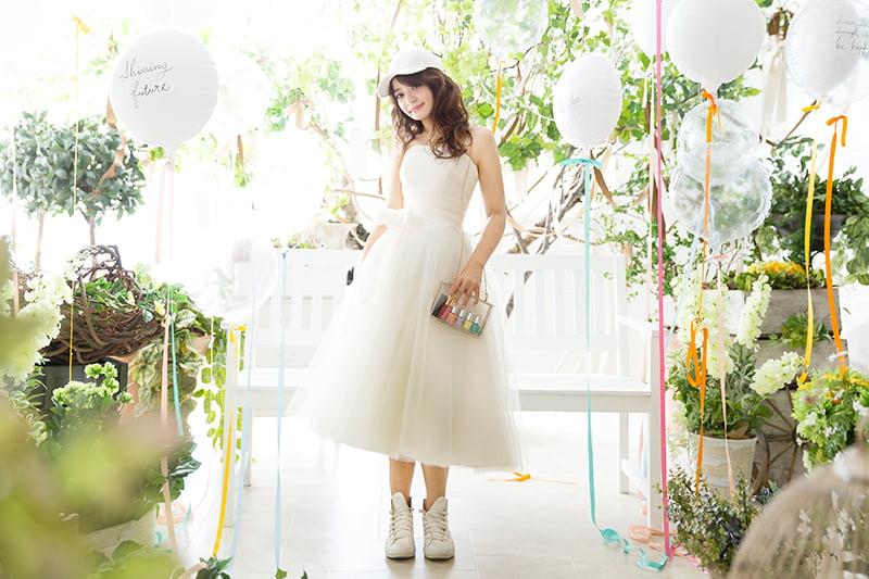 札幌 成人写真ドレス