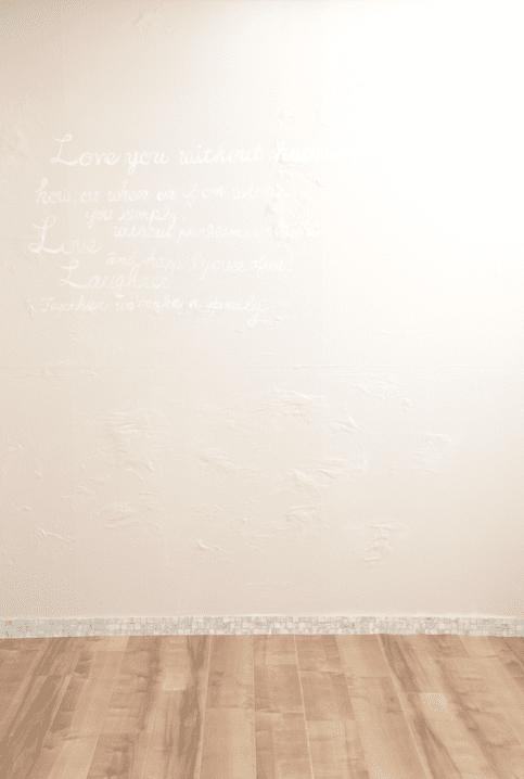 ピンク部屋 背景 婚礼 シンプル
