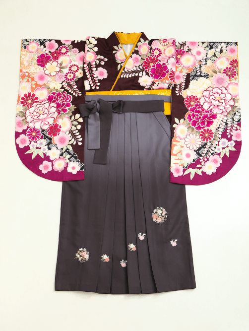 有村架純プロデュースの紫着物