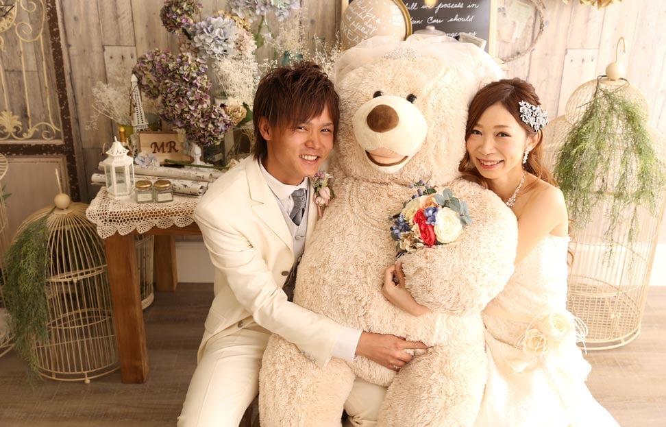 帯広店で結婚写真を撮影したセンパイカップルのレビュー