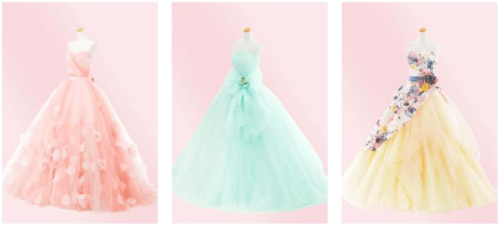ファクトリー カラードレス