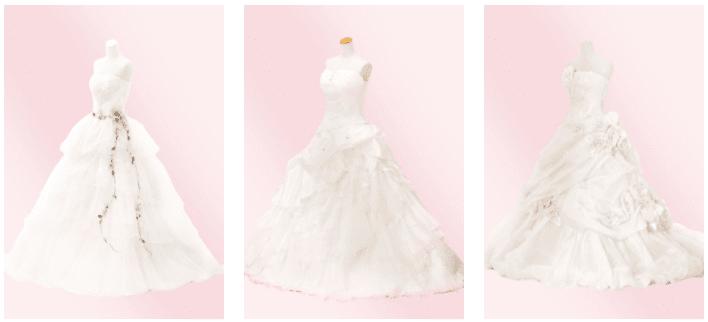 ファクトリー 白ドレス