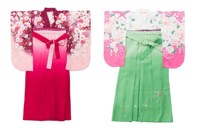 Springピンクの卒業にぴったりの春らしい袴