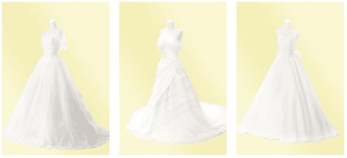 ファクトリー エレガント 白ドレス