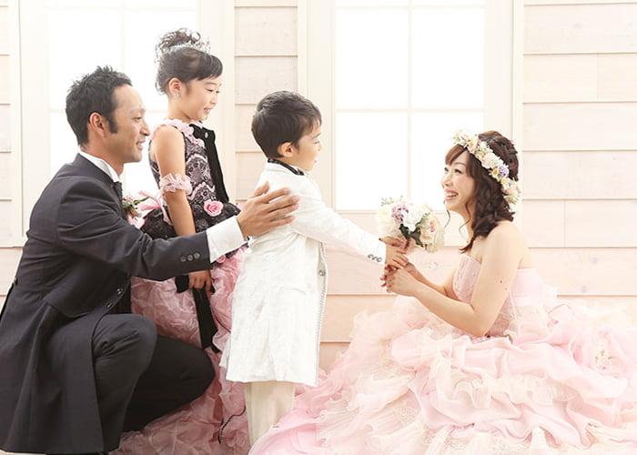 婚礼家族写真
