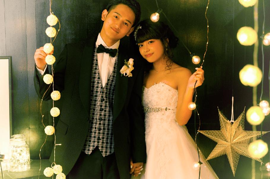 札幌結婚写真 ルミナリエ