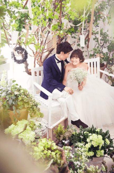 婚礼 洋装 白ドレス