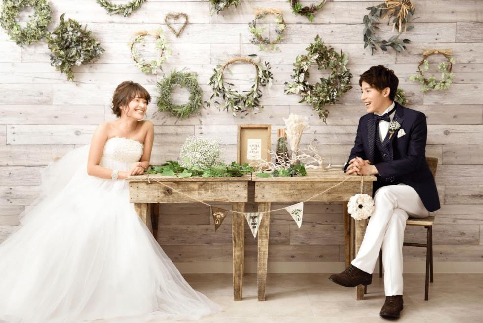 婚礼写真 白ドレス
