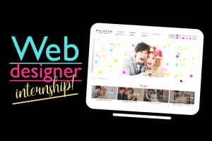【インターン大募集!!】WEBデザイナー