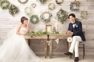 結婚写真 洋装