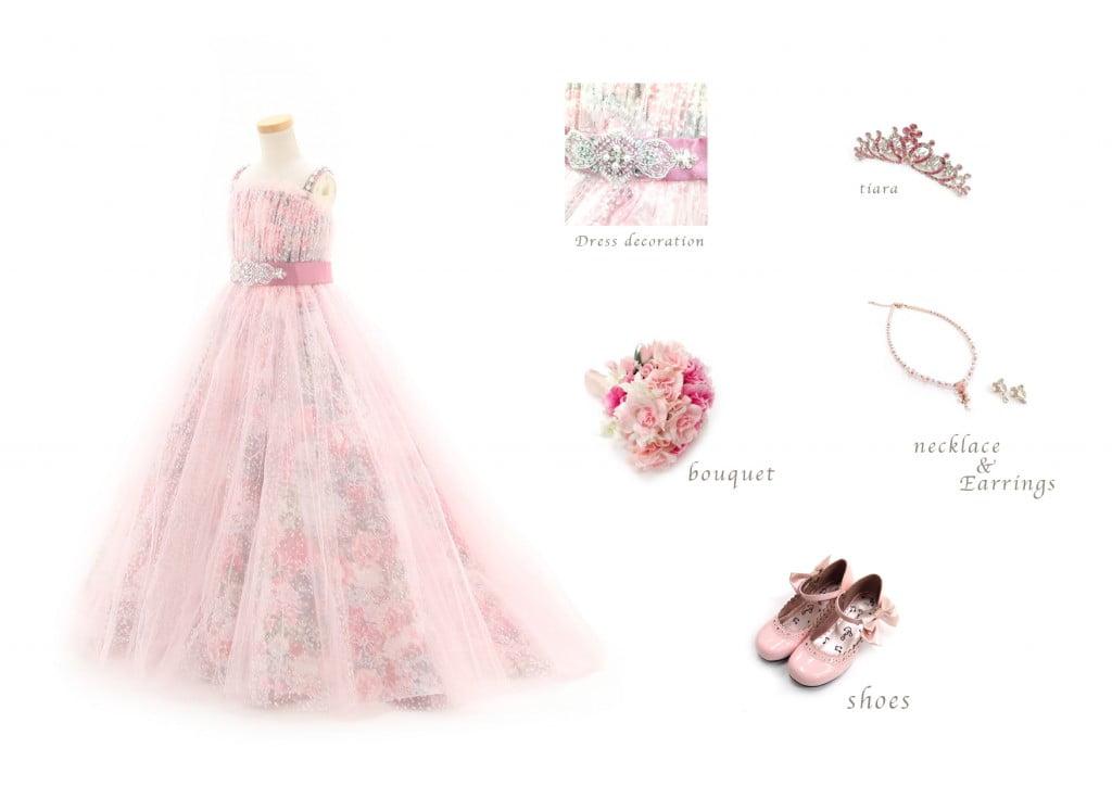 7才女の子ドレス