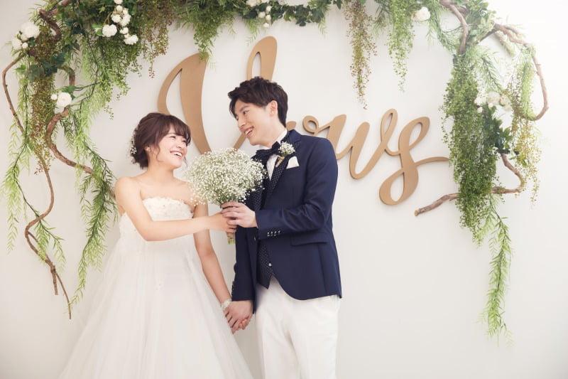 前撮り 結婚写真