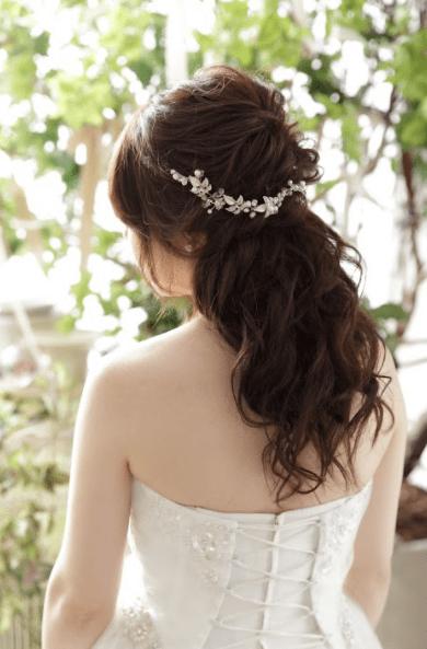 ヘアアクセサリー ドレス