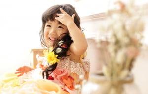 小樽2歳お誕生日写真