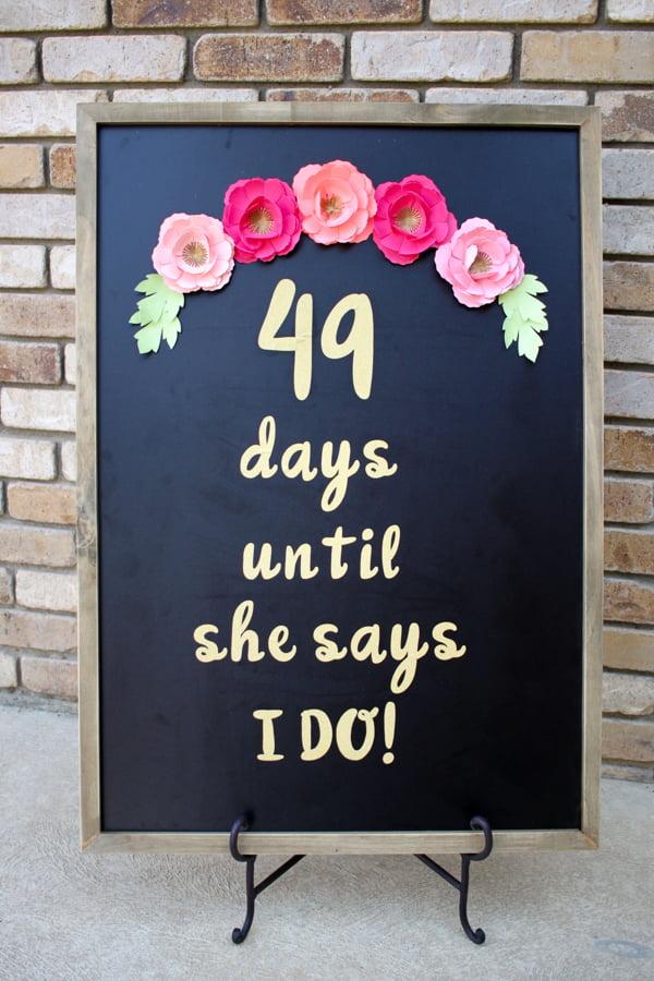DIY-Wedding-Countdown-Sign-7