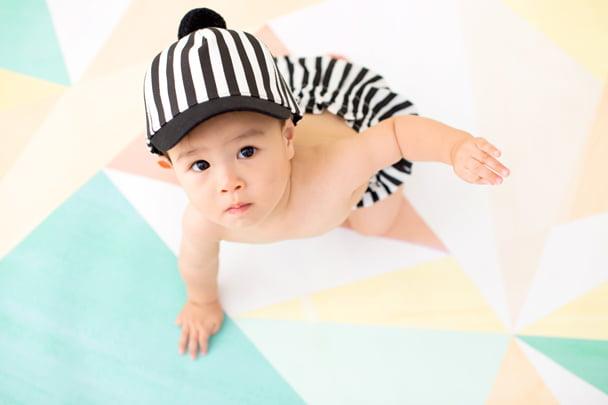 ぱれっと赤ちゃん背景