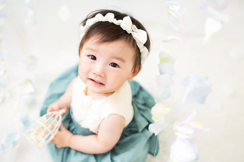 白水色ドレス2