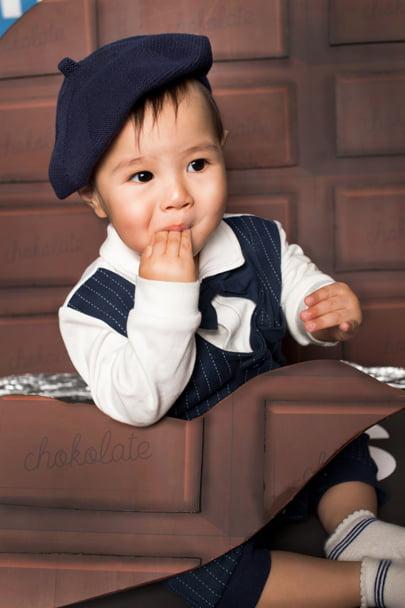 ぱれっとチョコレート赤ちゃん