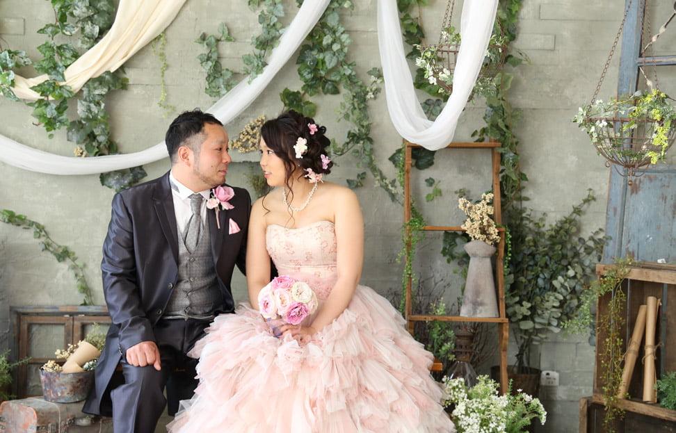 ぱれっとサッポロファクトリー店で結婚写真を撮影したセンパイカップルのレビュー