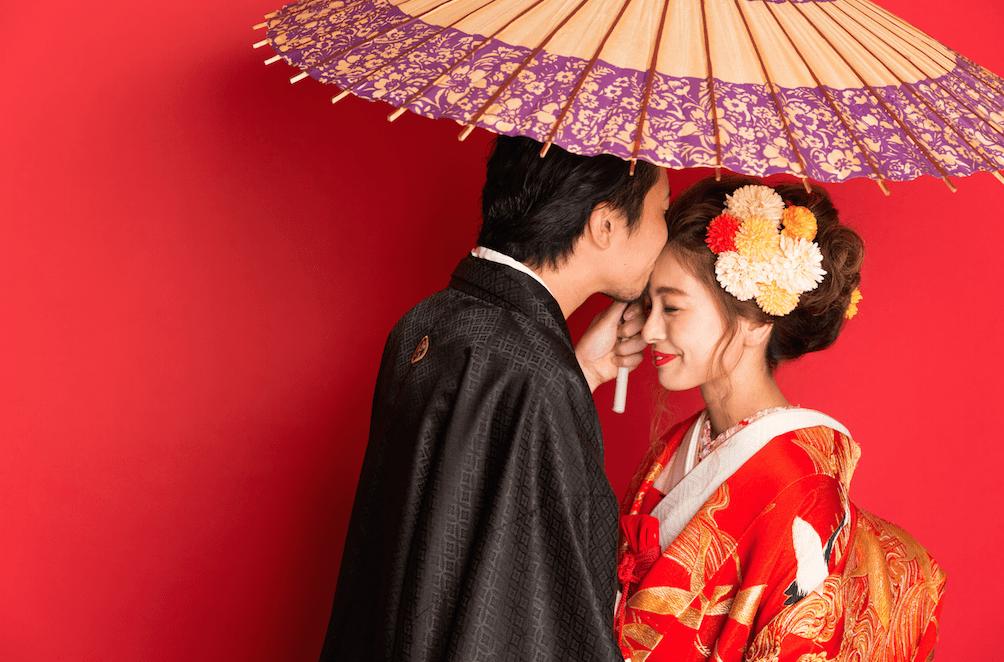 十勝で和装の結婚写真を撮るならぱれっとで!