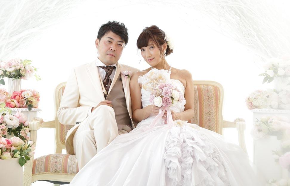 ぱれっと札幌中央店で結婚写真を撮影したセンパイカップルのレビュー