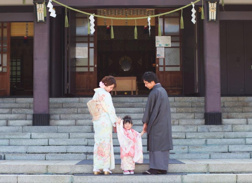 七五三 お宮参り 着物 パパママ着物 3歳女の子