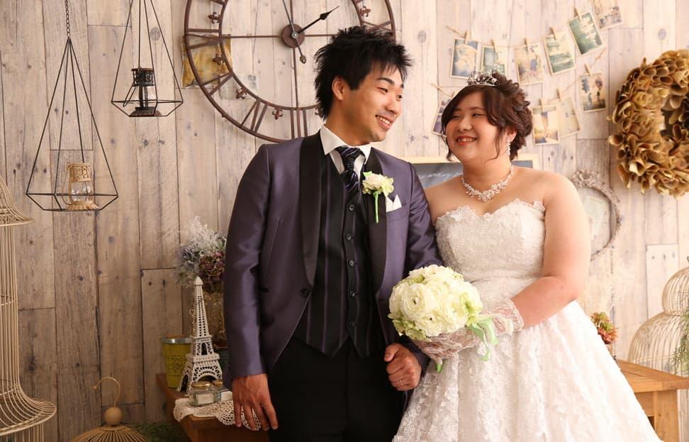 ぱれっと帯広店で結婚写真を撮影したセンパイカップルのレビュー