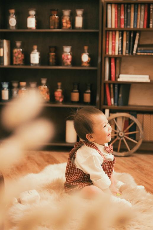 1歳誕生日記念 札幌