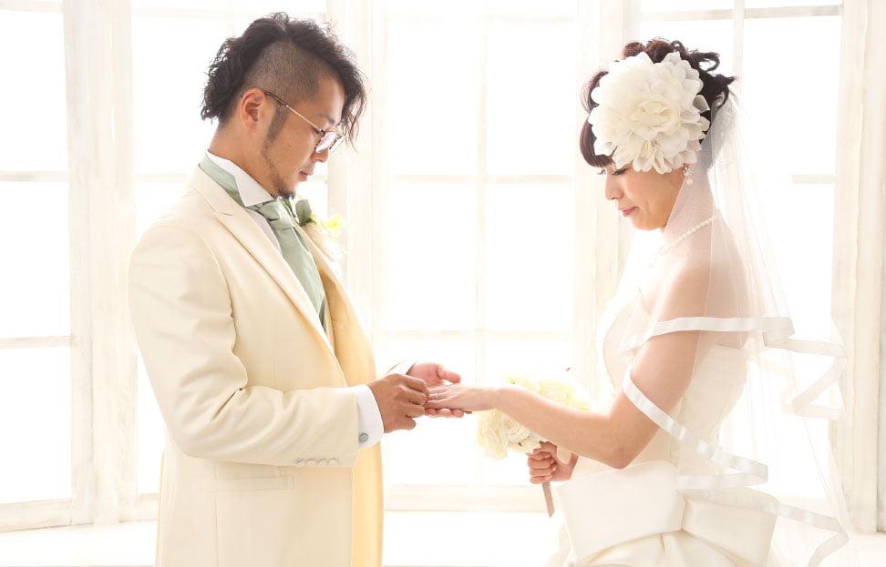 ぱれっと旭川店で結婚写真を撮影したセンパイカップルのレビュー